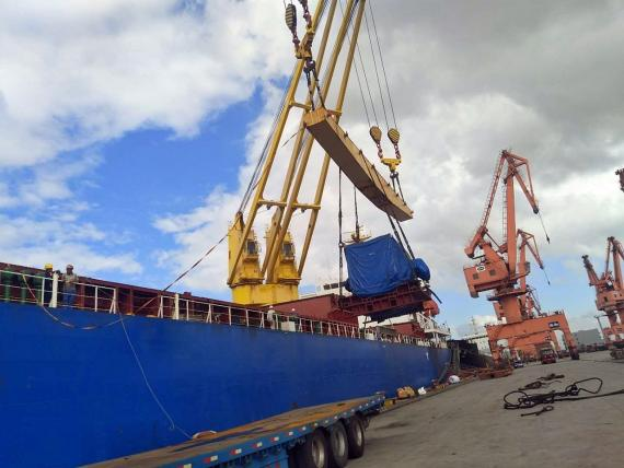 Express Global Logistics Complete Generator Shipment from Shanghai to India