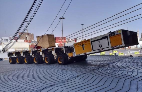 CTO do Brasil Ship Heavy-Duty Module to Chile
