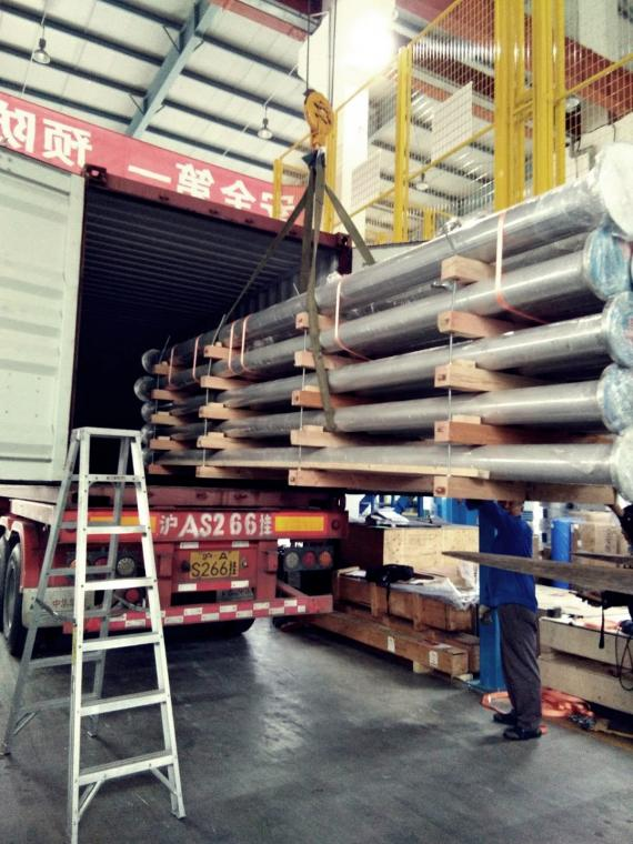 Topline Handles Shipment from China to India