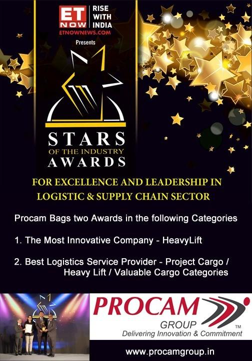 Procam Wins Excellence & Leadership Awards
