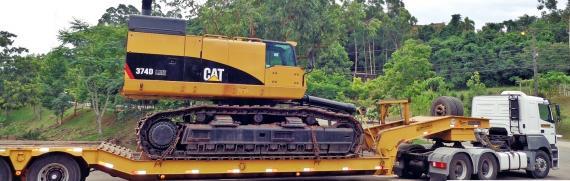 CTO do Brasil Ship Excavator from Brazil to China