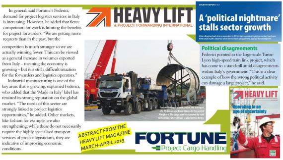 Paolo Federici of Fortune International Featured in HLPFI