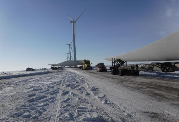 C.H. Robinson Deliver Wind Farm Upgrade in Difficult Conditions