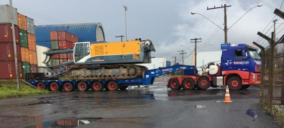 CTO do Brasil Handle Crane Shipment to China