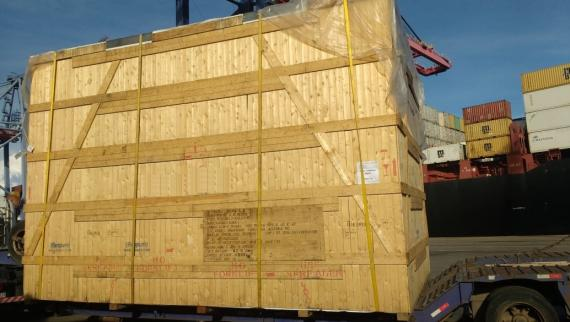 ABL & CTO Ship Brewery Equipment from Belgium to Brazil