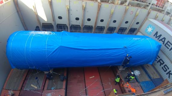 C.H. Robinson & Actanis Project Cargo Arrange Transport of Large Tank