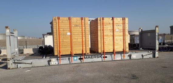 Actitrans & MGL with Another Shipment from France to Egypt