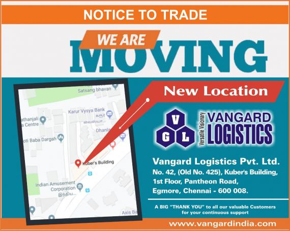 Vangard Logistics Announce Move to New Office