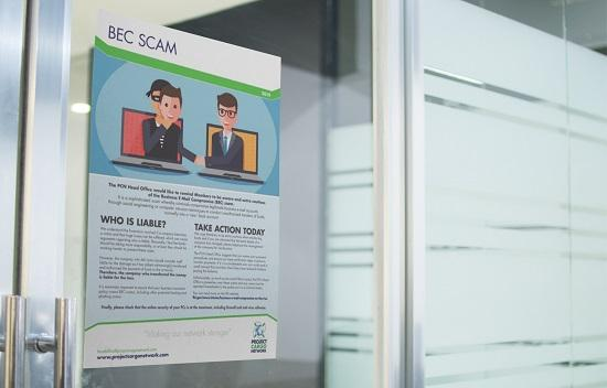 BEC Scam Flyer to Circulate Around Your Office