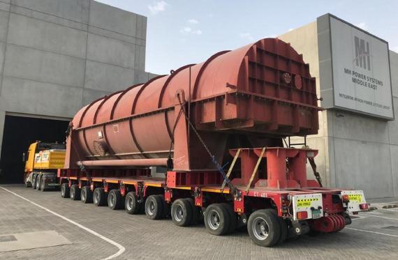 Polaris with Door-to-Door Handling of OOG Cargo