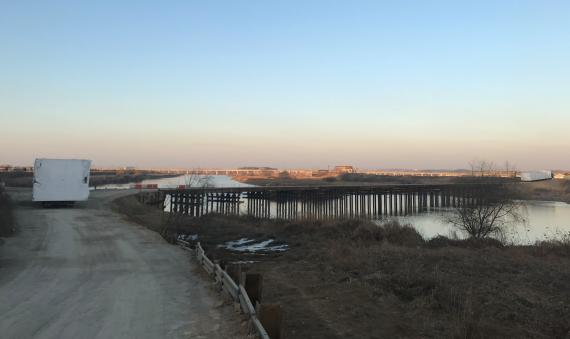 C.H. Robinson Builds a Temporary Bridge to Complete Logistics Project