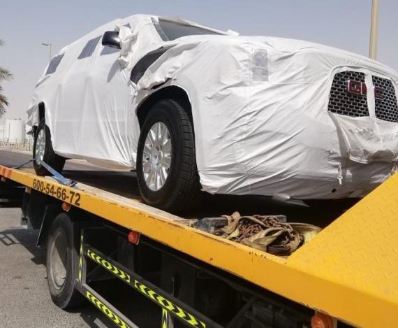 Wilhelmsen UAE & GRUBER Logistics Handle Air Movement of Special Security Vehicle