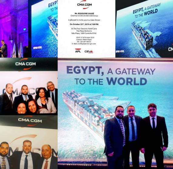 MGL Cargo Services Attend CMA CGM Event in Egypt