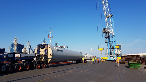 OOG & Large Breakbulk Specialists in Slovenia - Centralog