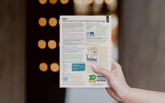 1st Issue of our New eZine: 'International Cultural Body Language'