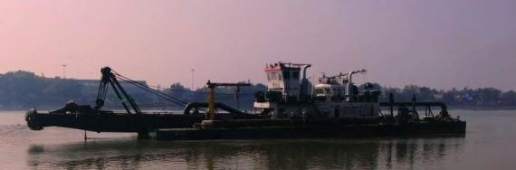 EXG Execute Heavy Lift Project of 565mt Cutter Suction Dredger