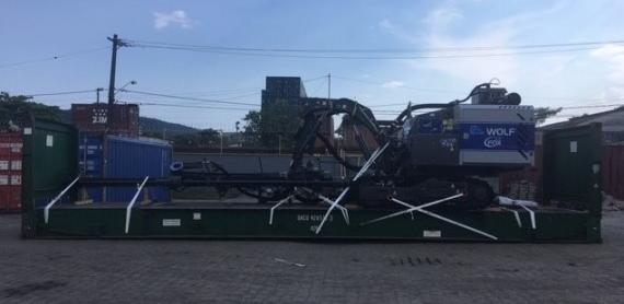CTO do Brasil with Shipment of Drilling Machine to the USA