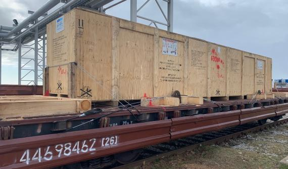 CF&S Handles Multimodal Transport  of Equipment via Estonia