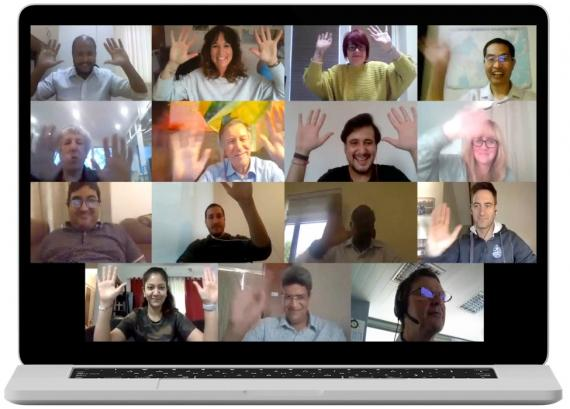 Our Latest Zoom Get-Together & Another Great Song from Paolo Federici of Fortune Italy!