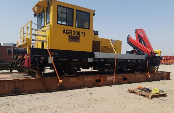 Polaris with Time-Sensitive Project Shipment of Rail Wagons