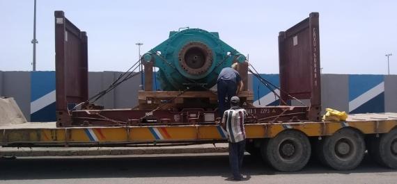 Star Shipping Pakistan Handles 2 Heavy Gear Boxes