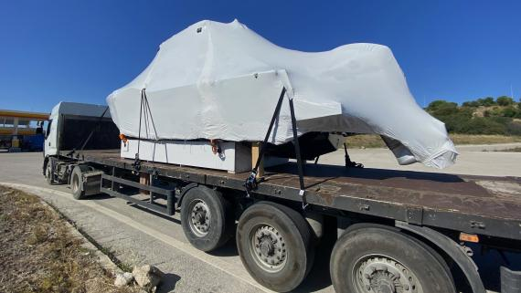 BATI Moves Another Yacht to Italy