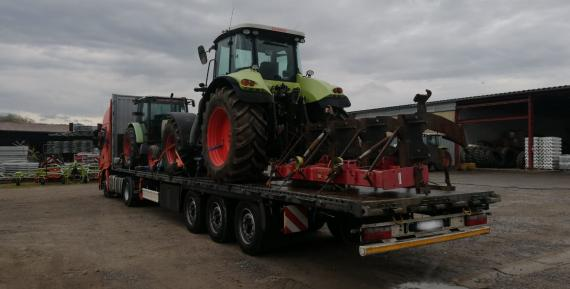 BATI Group Moves Tractors