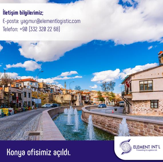 Element Logistics Turkey Announce New Office in Konya
