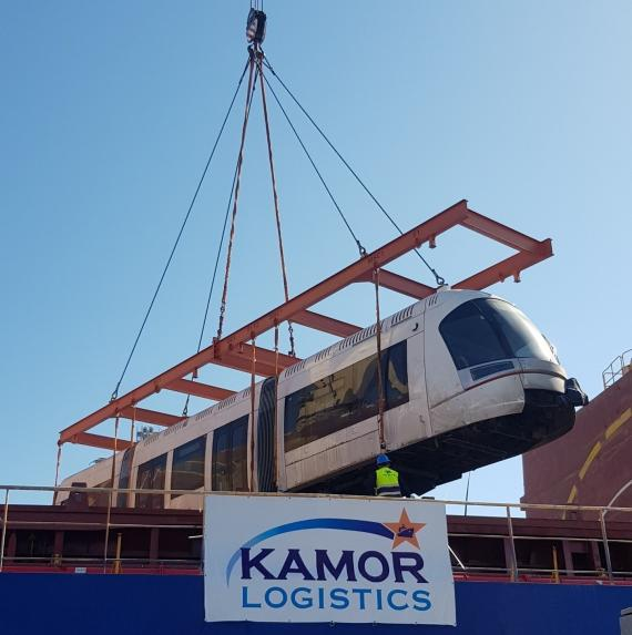 Kamor Handles Another Delivery for Tel Aviv Railway Project