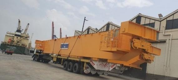 Star Shipping Pakistan with Survey of OOG Girders in Karachi