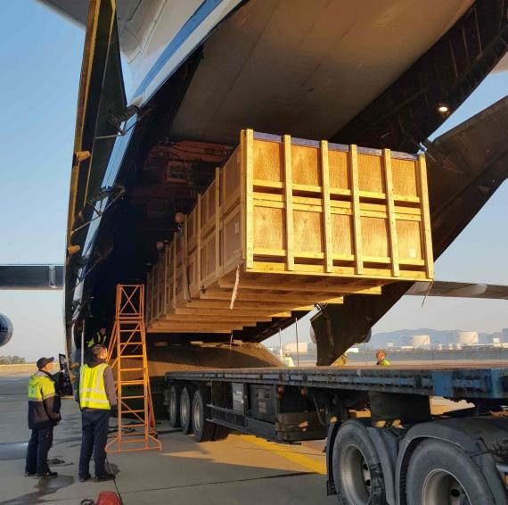 ABL Charter Two Full AN-124 Aircrafts for Critical Delivery