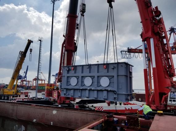 220tn Transformer Shipment by BATI in Turkey