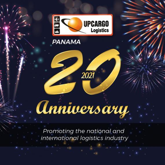Upcargo Panama Celebrating their 20th Anniversary