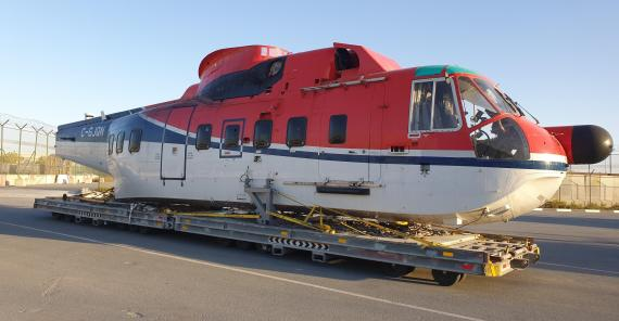 Wilhelmsen Offers Solution for Shipping Helicopters