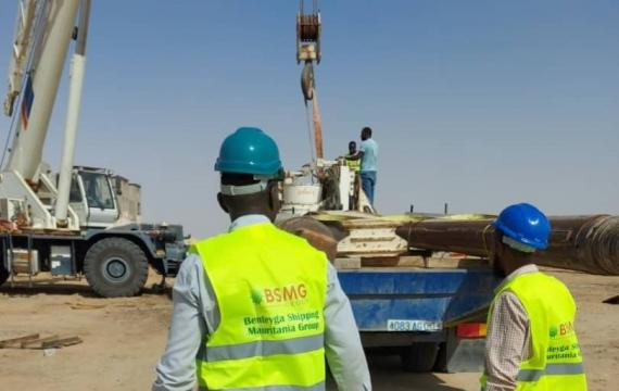 BSMG Handle Cargo at the Port of Nouadhibou