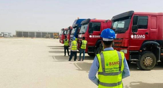 BSMG in Mauritania Report their Latest Operations