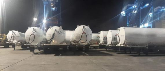 C.H. Robinson Delivers Oxygen Tanks to Brazil