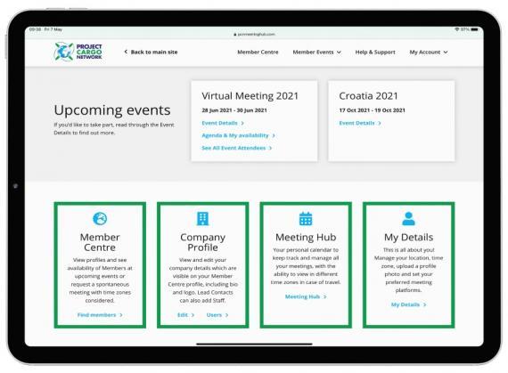 New Meeting Hub