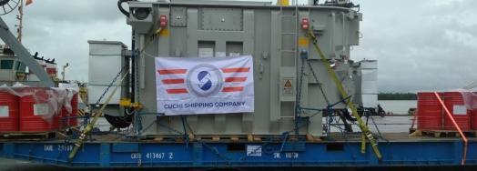 Cuchi Vietnam with Shipping of Two 70tn Transformers