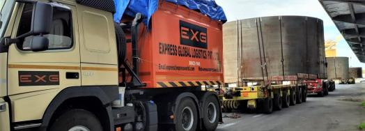 EXG Delivers 3 Over-Dimensional Alloy Steel Units