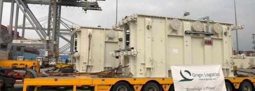 Origin Logistics Send Another Set of Transformers