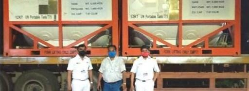 EXG with Overnight Clearance of Cryogenic Oxygen Tanks in India
